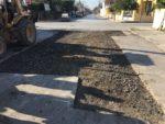 Reparan tramo de la calle Guayalejo