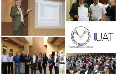 Imparten en la UAT temas de geomorfología y urbanismo sustentable