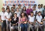 Entrega Gobierno Municipal de Xicoténcatl Apoyo a Estudiantes