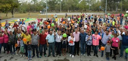 Festeja gobierno municipal el día de la familia