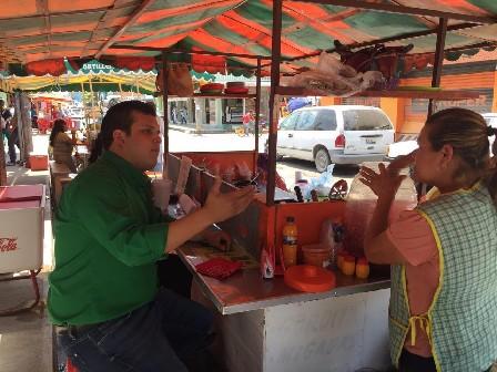 Se Compromete Bruno Díaz a Legislar para Impulsar  el Desarrollo Comercial
