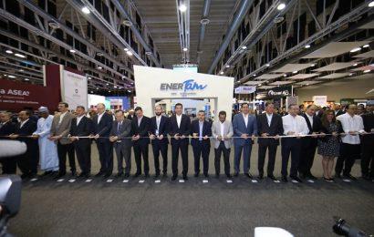 """Inaugura Gobernador exposición internacional """"EnerTam"""" 2019"""