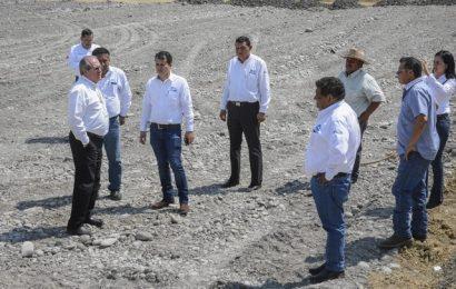 Gobierno de El Mante da seguimiento a la construcción de la nueva celda en el relleno sanitario.