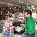 Bruno Díaz se compromete a Fortalecer y apoyar al comercio local