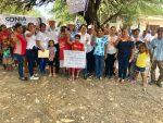 Recorre Sonia Mayorga ejidos de González Sumando más Votos a su campaña