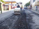Rehabilitan tramo de la calle Ocampo en la zona centro