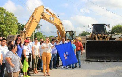 Inician Construcción de Glorieta en Xicoténcatl