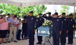 Despiden con Honores a Policía Estatal Caído en Reynosa