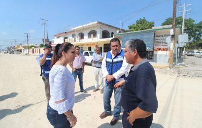 Presidenta, el Subsecretario de Vías Terrestres y Supervisor Inspeccionan Obras