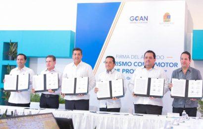 Gobernadores de la GOAN firman acuerdo para impulsar el desarrollo turístico y económico