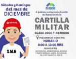 Exhorta Gobierno de El Mante a Recoger Cartilla Militar a Clase 2000 y Remisos