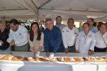 Municipio y Sociedad Comparten Rosca de Reyes