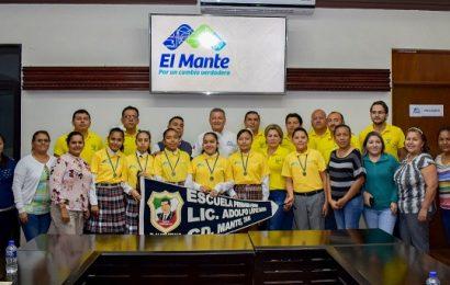 Refrenda Alcalde su Total Apoyo a Participantes en Concurso Estatal de Escoltas