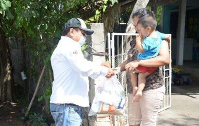 Alcalde Continúa Llevando Apoyos a la Zona Temporalera