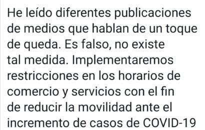No Habrá Toque de Queda en Nuevo León indica «El Bronco»