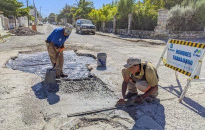 Rehabilitan sector de la calle Ocampo al norte